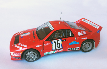 L.M.C.205 037 Targa Florio 1984 Beretta-Pozzi